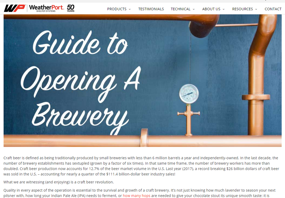 Guide to Opening A Brewery