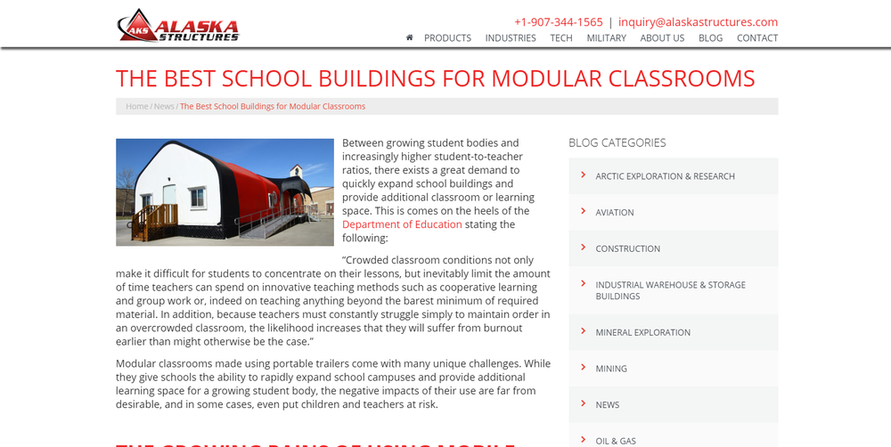 The Best School Buildings for Modular Classrooms