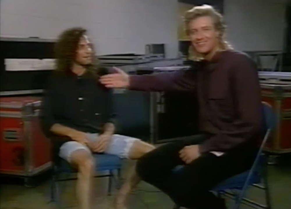 Kenny G actually flew his own private plane to this interview in Virginia on Videosyncrasy, 1990.
