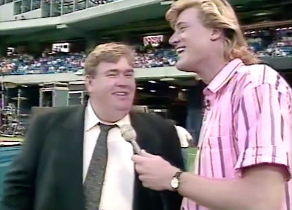 The late John Candy really was the nicest and funniest guy in the business. He owned the Toronto Argonauts along with Wayne Gretzky back in 1991.