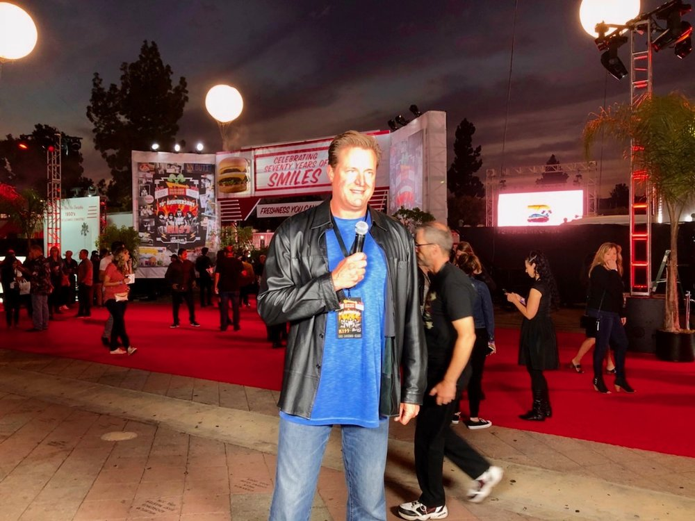 Hosting In-N-Out Burger's 70th Anniversary Celebration & KISS Concert at The Shrine Auditorium, October 22nd 2018.