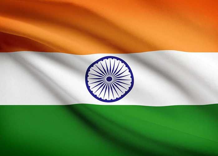 The Indian flag was a source of inspiration for both colours and design.