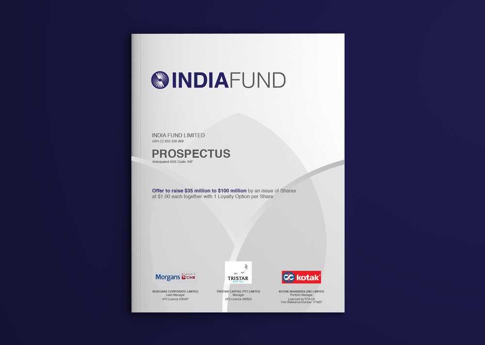 The Prospectus.