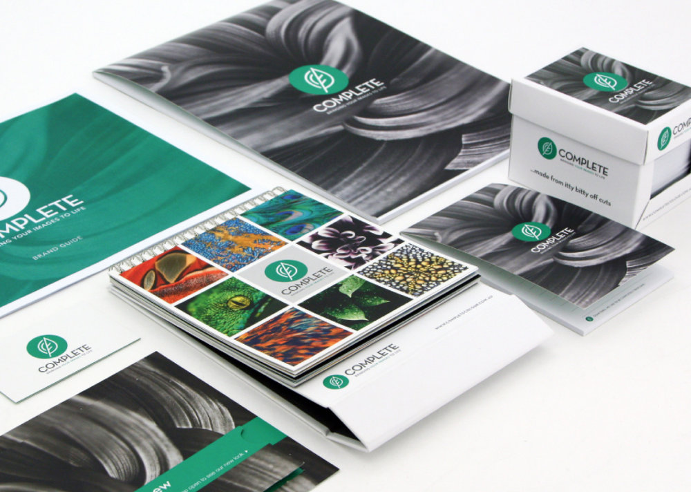 To showcase the variety of printing techniques Complete have on offer and to inspire future projects, Gloss Design developed a Promotional Calendar that used a variety of stocks and finishes. This was then gifted to existing and potential customers.