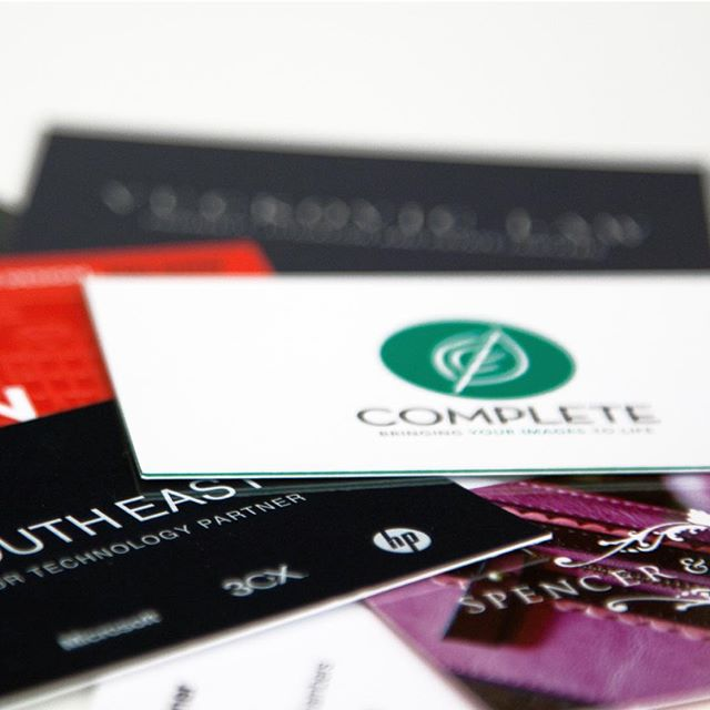 It always amazes us how many people over look the power of a creative business card.  Just like a website, your business card is a representation of yourself and your company. Make sure your first impression is a great one ✔️