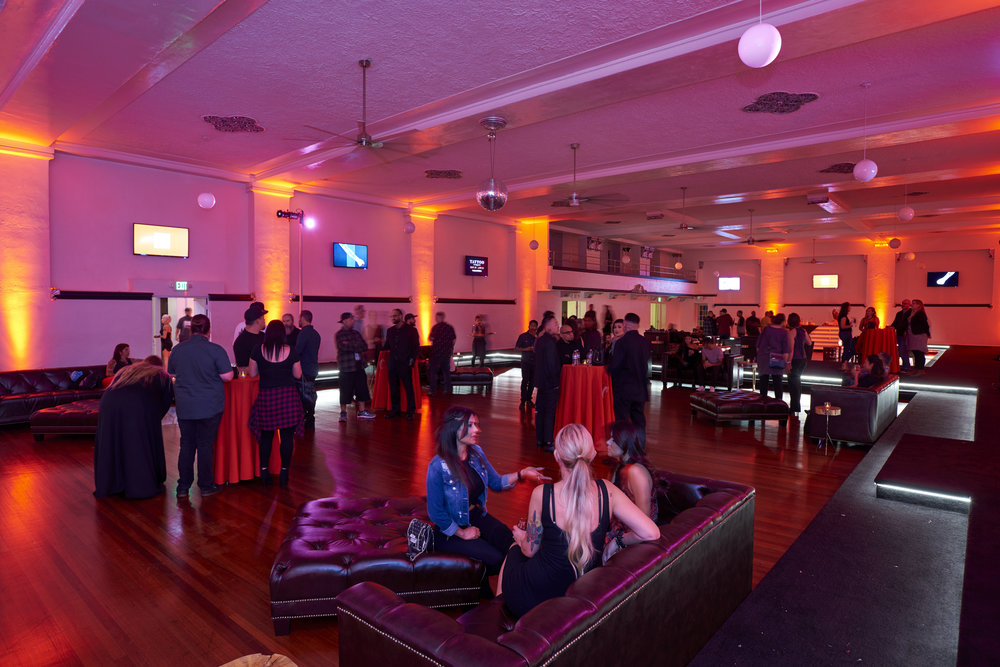 HOLLYWOOD BALLROOM - 5,553 sq. ft. | Capacity: 250-300