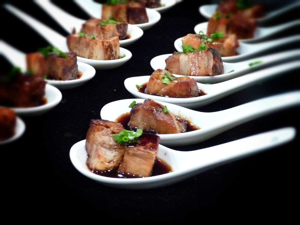 Pork belly with prune and armagnac
