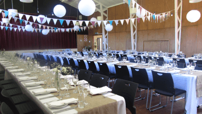 Makara Hall   366 Makara Road, Makara Capacity: 150 standing; 100 seated Ideally suited for weddings and private events  Map
