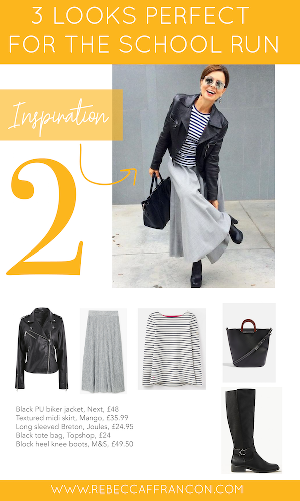 Style and outfit inspiration for busy Mums. Everyday fashion for the school run.
