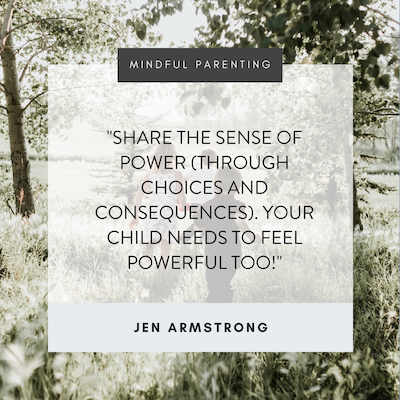 Here For You For Them Mindful Parenting: Boundaries, Choices and Consequences