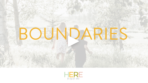 Here For You For Them London: Mindful Parenting and Boundaries