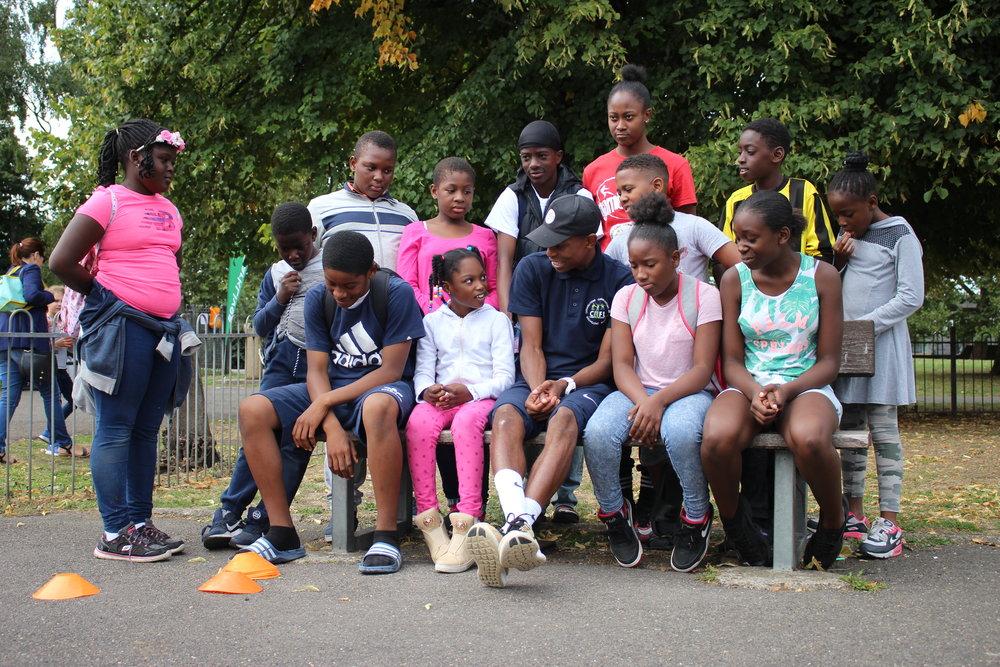 CEF Lyncx, Blenheim Gardens London