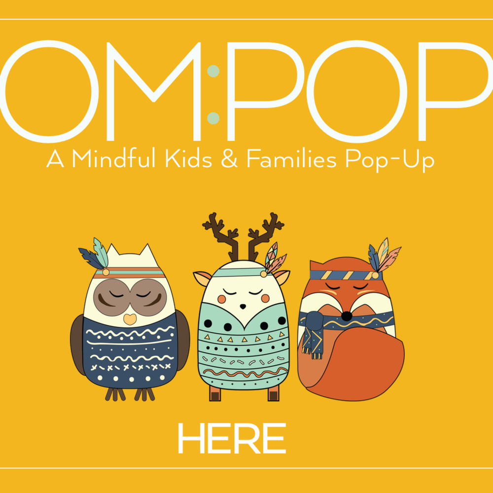Here + Om:Pop - HERE is hosting our first private Pop-up event especially for the Reception pupils and their parents at Melcombe Primary School in Fulham. There will be two, 1/2-hour workshops that include yoga, creative & reading corners and mindfulness support for parents.