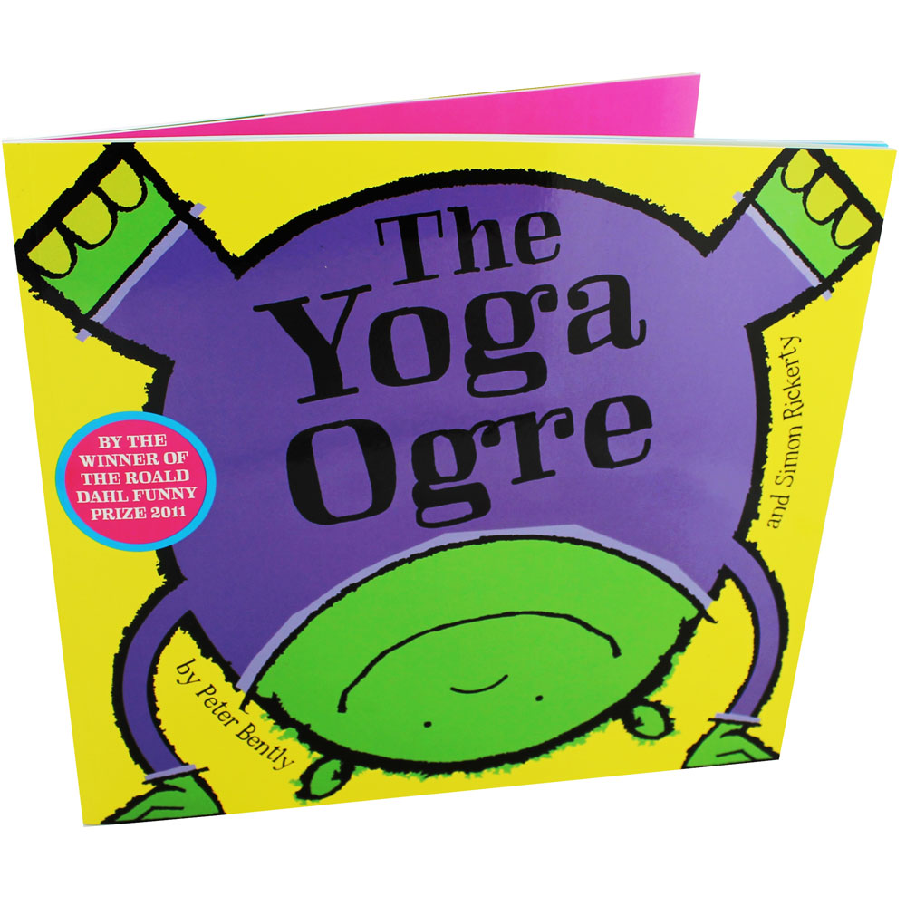The Yoga Ogre by Peter Bently - Lively rhyming text and bright, humorous illustration make this a great book to read aloud, and it could also be a useful tool for introducing a range of healthy activities to children.