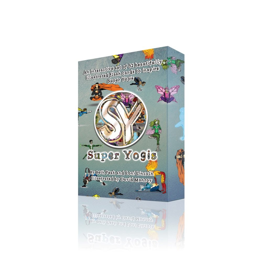 - A set of 32 beautifully illustrated flash cards to inspire the Super Yogis in your life. These cards are designed to appeal to all ages from 4 to 104, teaching breathing techniques, positivity and yoga poses for all bodies.