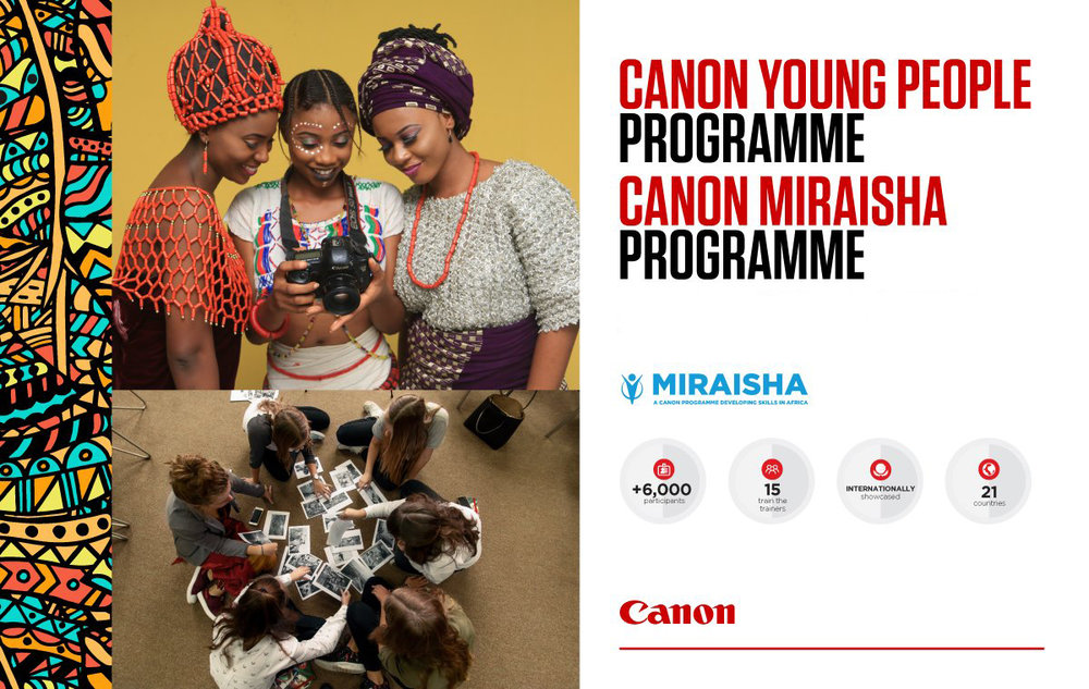 - The programme, run closely with Canon Central & North Africa and has trained over 2,500 participants since its inception in 2014, aims to promote job opportunities in Africa by offering workshops to photographers, videographers, film-makers and print business owners.Canon Trainers provide people with the skills to develop their careers in professional photography or print by utilising Canon's core expertise in imaging and its network of professionals. Initiatives range from fashion and street photography classes to filmmaking workshops and print training for SMEs.Teddy specifically runs the Basic, Speedlight and Fashion Photography Africa-wide workshops.