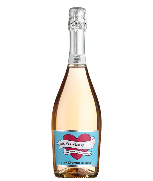 All You Need is Love Rosé Spumante.. - Available in store at Sainsburys (online coming soon)