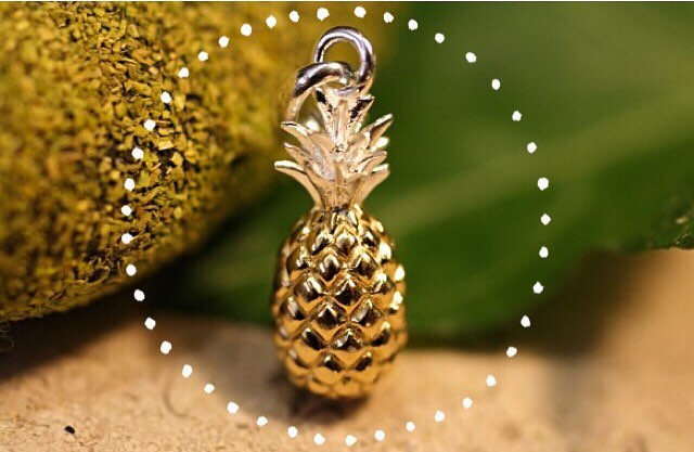 We have a wide variety of sterling silver charms in stock - they're a great way to personalise a gift. 🍍