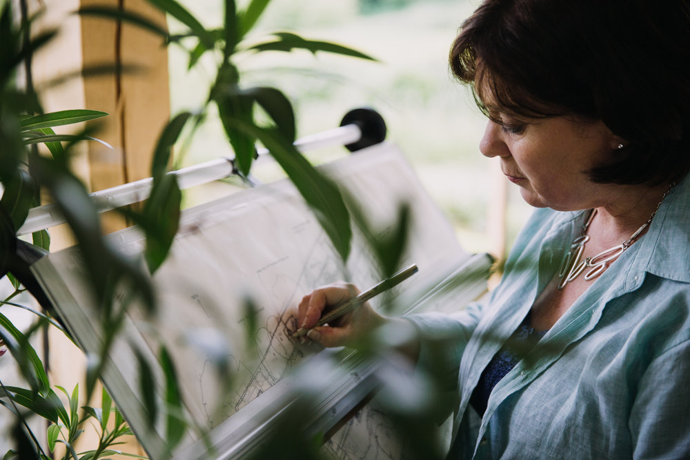 About working with garden design consultants in Oxfordshire, Berkshire, Buckinghamshire & London