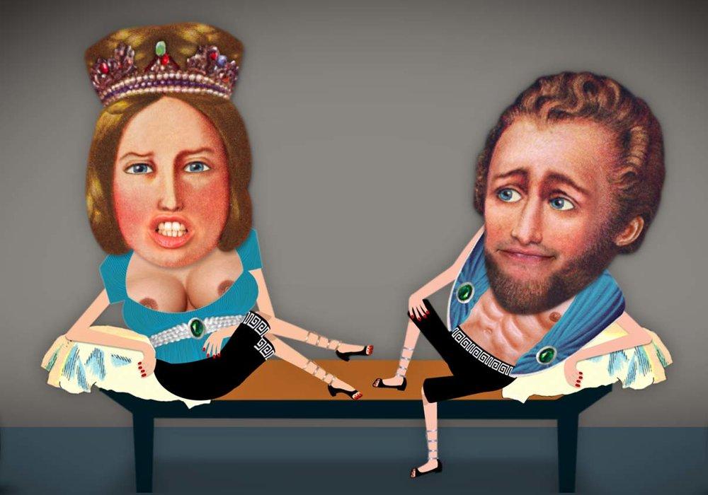 ... als Orpheus vor die Jury kam / was Persephone und Hades war'n ...