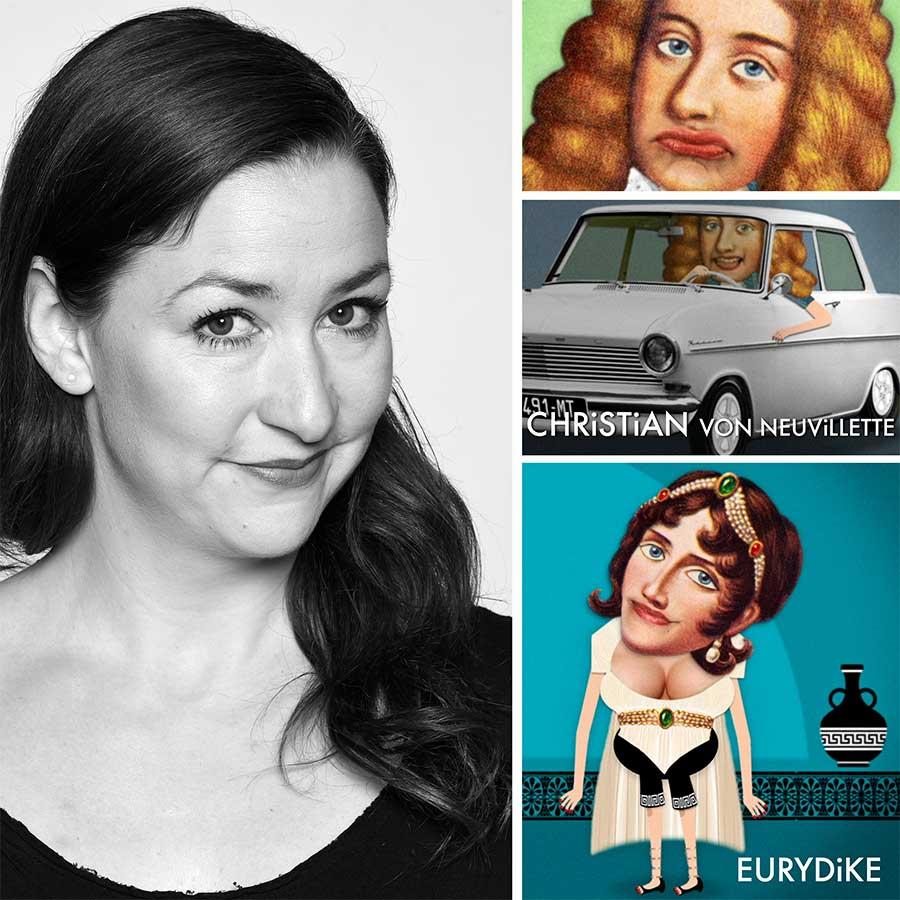 Chrysi Taoussanis  Schauspielerin, Sängerin - Christian von Neuvillette bei CYRANO DE BERGERAC, Eurydike bei ORPHEUS & EURYDiKE •  chrysi.de