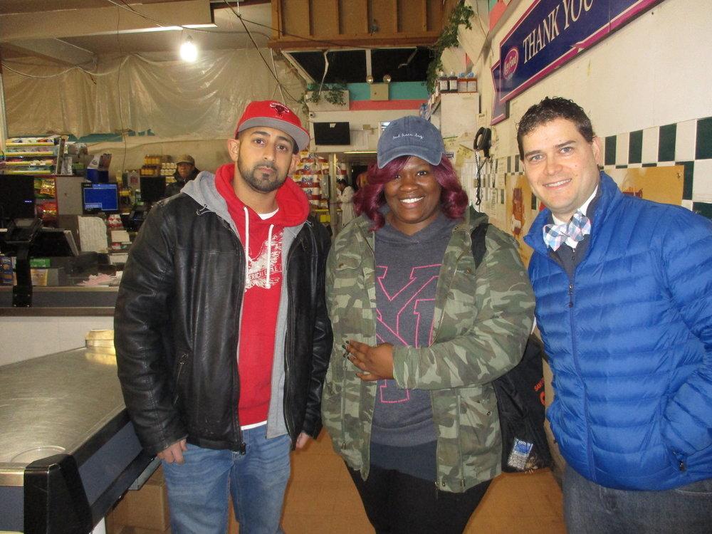 Ishmael, Monique, and Stephen