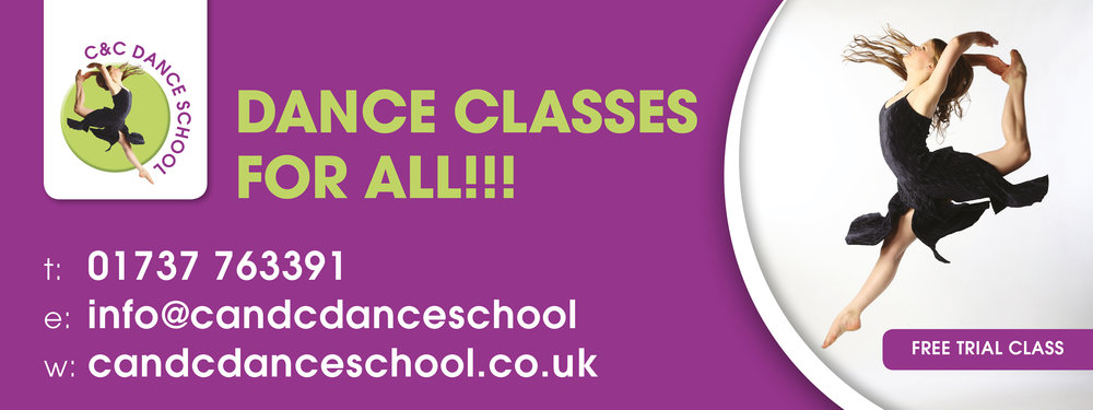 C&C Dance School Vinyl Banner Advert