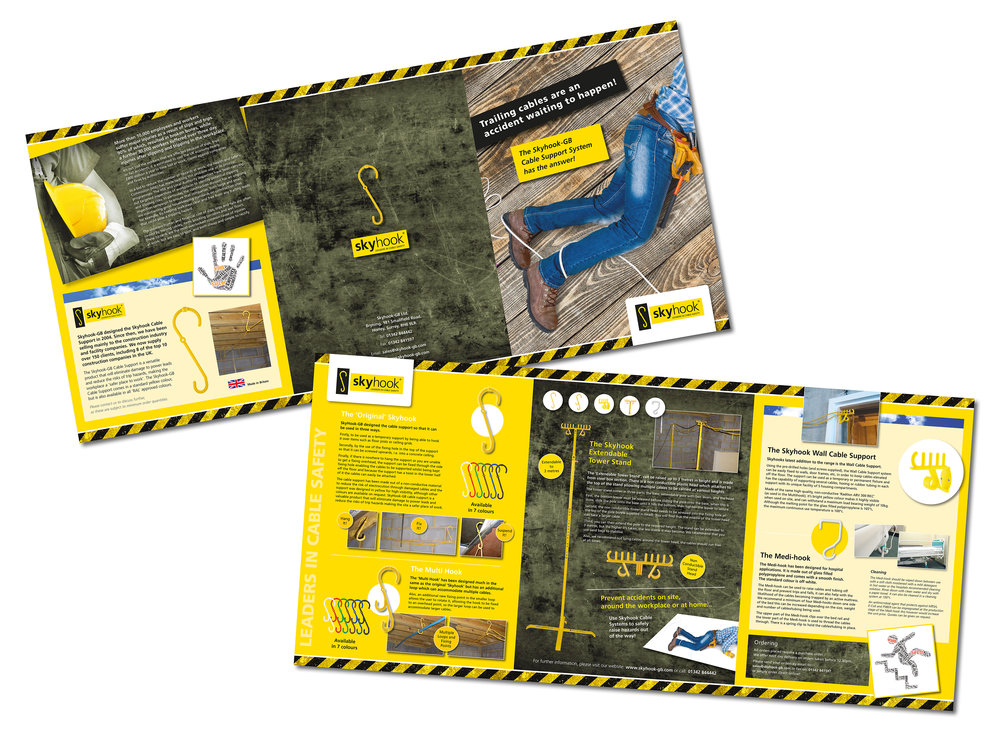 Skyhook-GB 6pp A4 Corporate Brochure