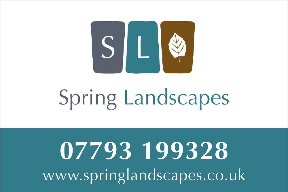 Spring Landscapes Aluminium Signage