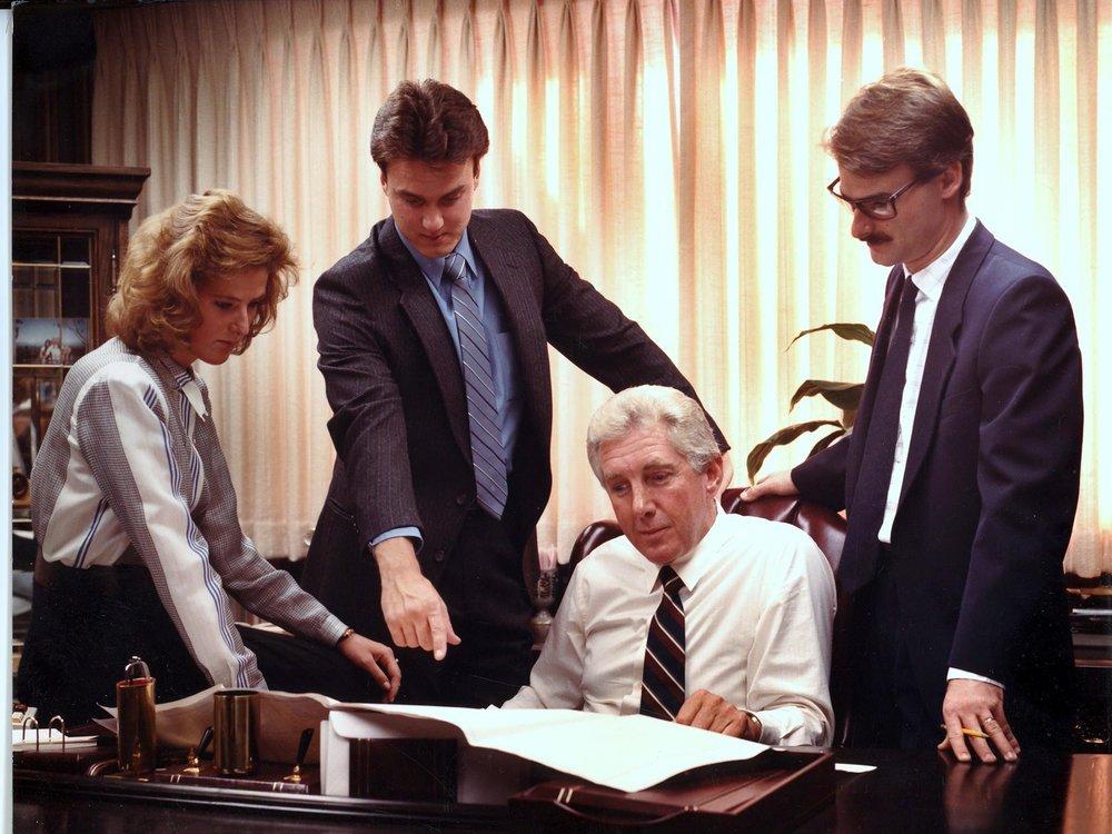 (From Left) Tori Shuken, Jon Shuken, Steve Shuken, Bill Shuken, - 1985
