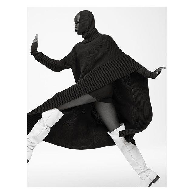 Grace Bol for Vogue Australia. Styled by Natasha Royt.