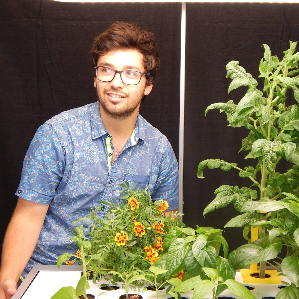 #PlantChoreographer - Angelo is our Master Gardener. After running Loyola University's 'Ecodome,' a large aquaponics lab, he's come to Harvest₂O for an even greater challenge: teach our 'Smart Gardener' how to run every Indoor Garden we deliver.