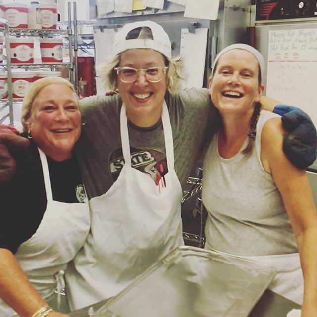 Having fun in the kitchen today !!! #catering #kitchen #foodforthought #workflow
