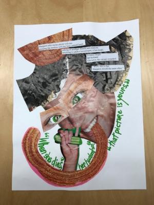 Professor Laurel DiGangi's graphic poem