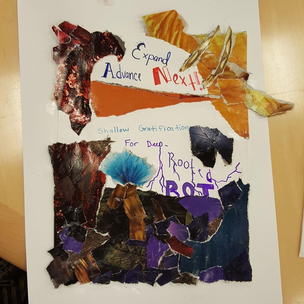 Evelyna Nazari's graphic poem