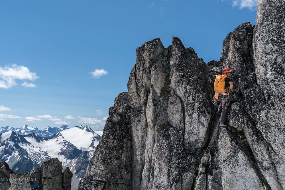 Climbing in the Selkirks
