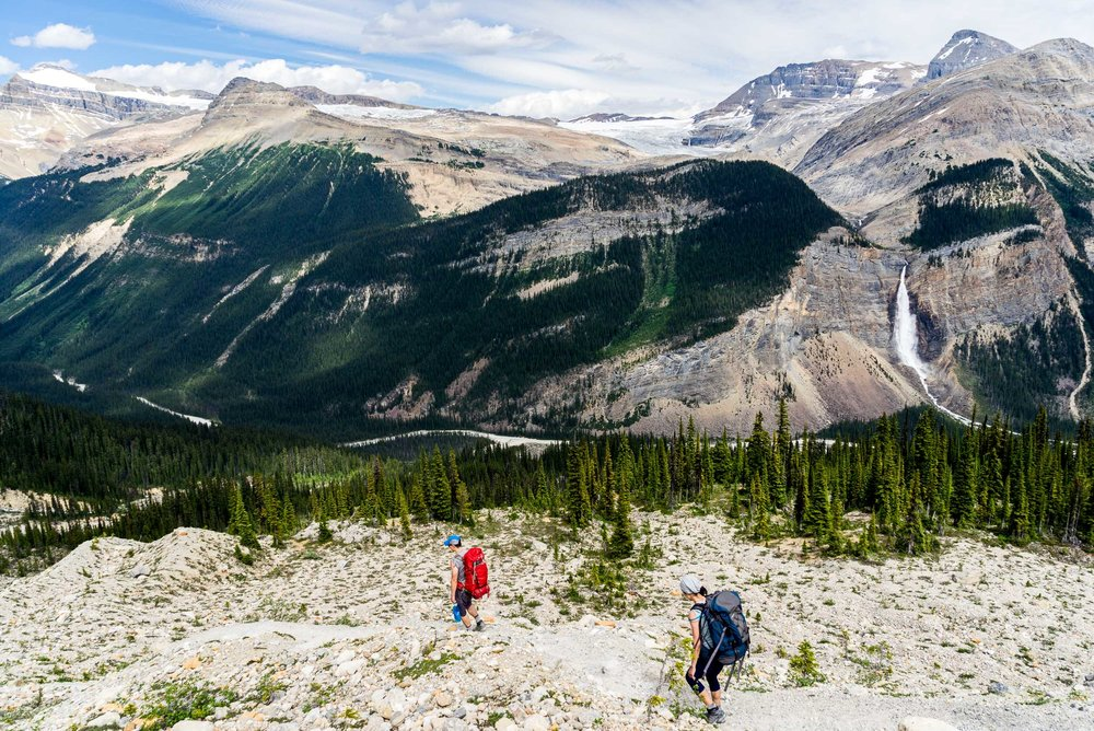 Hiking the Iceline Trail