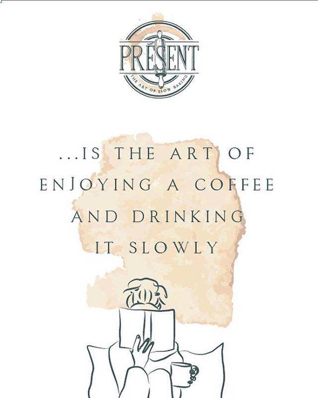 Good morning, #CoconutGrove!!!☕️ #presentbakery #presentculture #livinginthepresentmoment