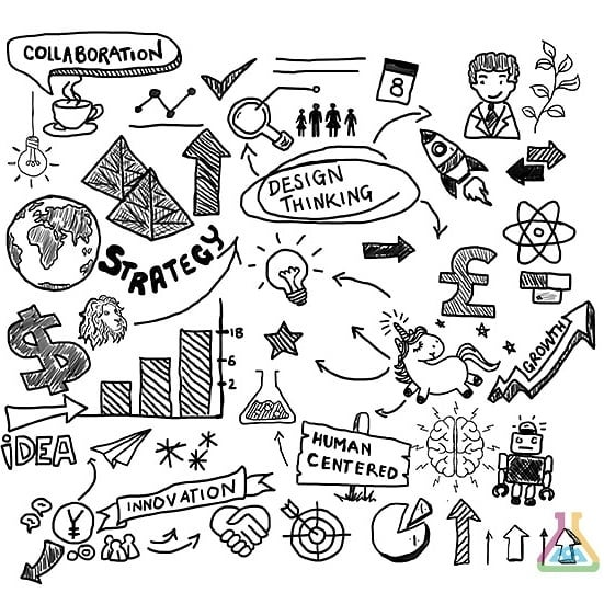 Communicating your ideas visually can be a powerful thing. Our Doodle represents 'Our Vision' and 'Our Mission', tell us what you think it's saying... | #DesignThinking #Art #Design #Doodle #VisualComm #DesignThinking #Innovation #UX #servicedesign #strategy #storytelling #Storyboard #VisualArt #Vision #Mission #Collaboration #Growth #Creatives #creativity