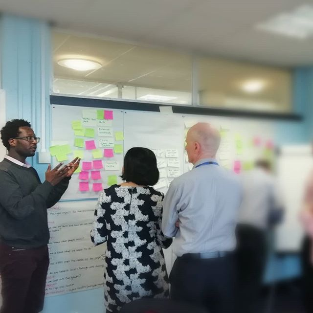 Ideation, Ideation, ideation... part of day 3 of our #DesignSprint with @SolihullCouncil #DesignThinking #innovation #servicedesign#DesignThinking #Innovation #HumanCentredDesign #UX #CX #servicedesign #userexperiencedesign #userexperience #ServiceDev #productdesign #branddev #branddevelopment #strategy #Growth #uxdesign #design #policy #VisualComm #idea #Empathy #ideation #define #designsprint