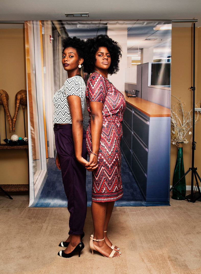 Kyandra and Shakiya, from the series Am I What You're Looking For? by Endia Beal