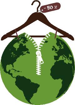 Collectif Démarqué - Le Collectif Démarqué est un jeune collectif (créé en 2016) porté par une équipe de bénévoles (de 17 à 27 ans) qui souhaite sensibiliser autour de la fast fashion et qui promeut la slow fashion (l'upcycling, le seconde main, les marques responsables…).Le Collectif Démarqué s'est créé grâce au programme Erasmus + qui a pour objectif de regrouper des jeunes en Europe (nous étions en partenariat avec un groupe belge). Après avoir lancé un sondage en 2017, nous avons en avril 2018, publié les résultats. Aujourd'hui, nous faisons un pas de plus vers la sensibilisation en s'associant avec Atypique Atipico sur cette campagne.Le Collectif Démarqué fait partie du pôle Recherche de CliMates, un think-and-do tank à but non lucratif, un véritable laboratoire d'idées et d'actions qui mène des projets de recherche, de formation et d'action pour trouver des solutions innovantes au changement climatique.