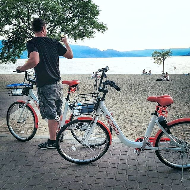 Fun fact: You can travel up to 1037 km on a bicycle with the energy equivalent of a single litre of gas. Spend less and get to your destination more efficiently. ✨🏆🚲 📷 @moment__seeker . . . #bikes #bikeshare #travel #commute #tourist #tourism #biking # nature #kelowna #explore #discover #environment #sustainability #cars #cyclinglife