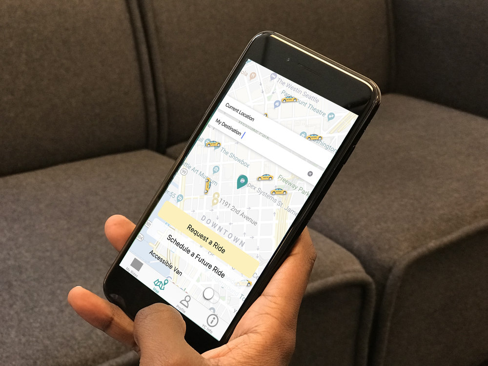 The Seattle Yellow cab mobile application