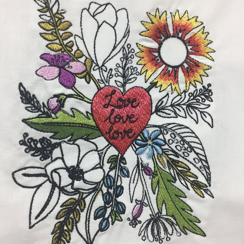 Classes Embroidery