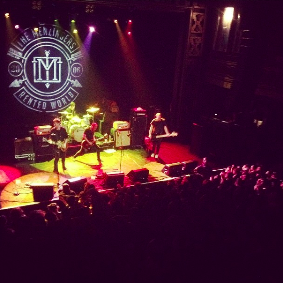 Menzingers @ Webster Hall