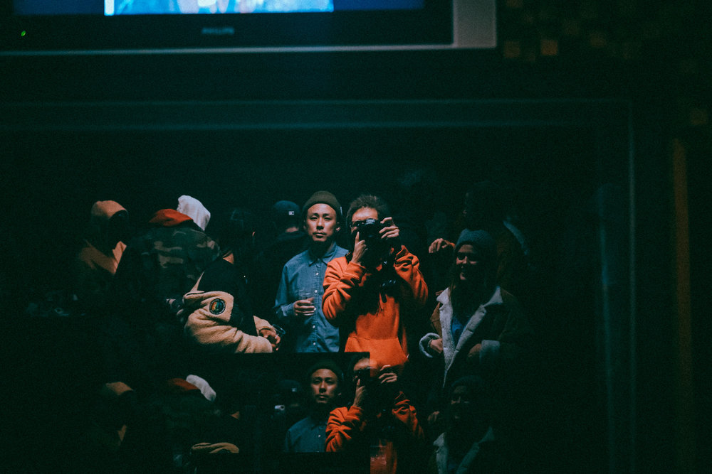 One of the few photos I captured during my release party.