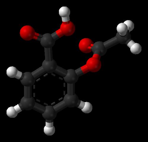 Aspirin-B-3D-balls