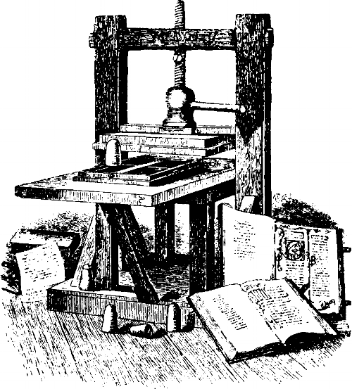 First_Printing_machine