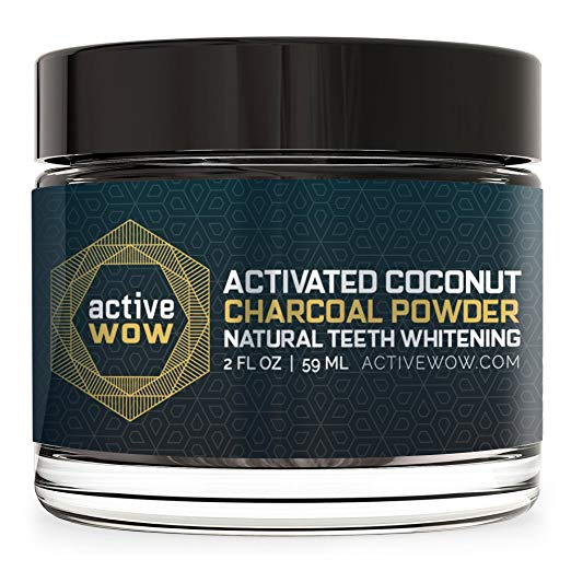 Active Wow Teeth Whitening Charcoal Powder